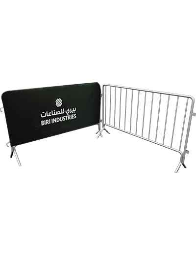 Steel-Barriers-with-Advertising-Option;?>