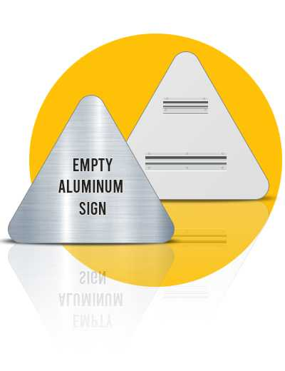 Empty-Aluminum-Signs