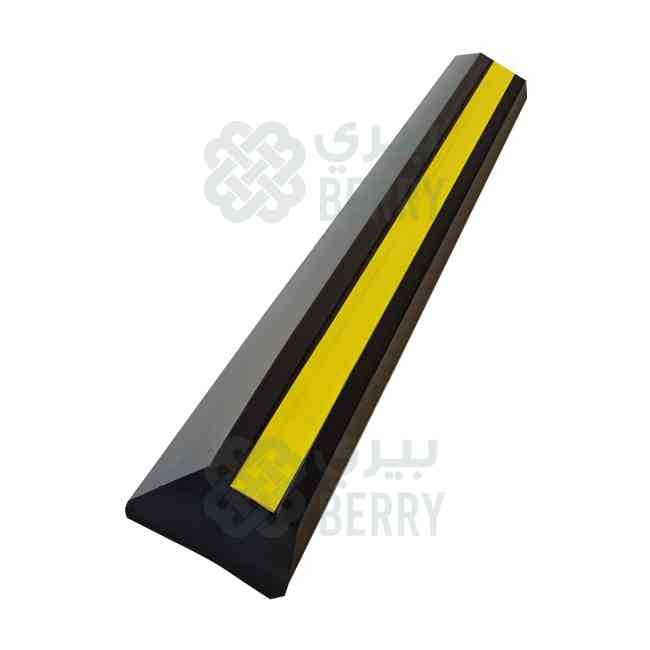 Wheel Stopper 180cm Rubber EPDM Heavy Duty
