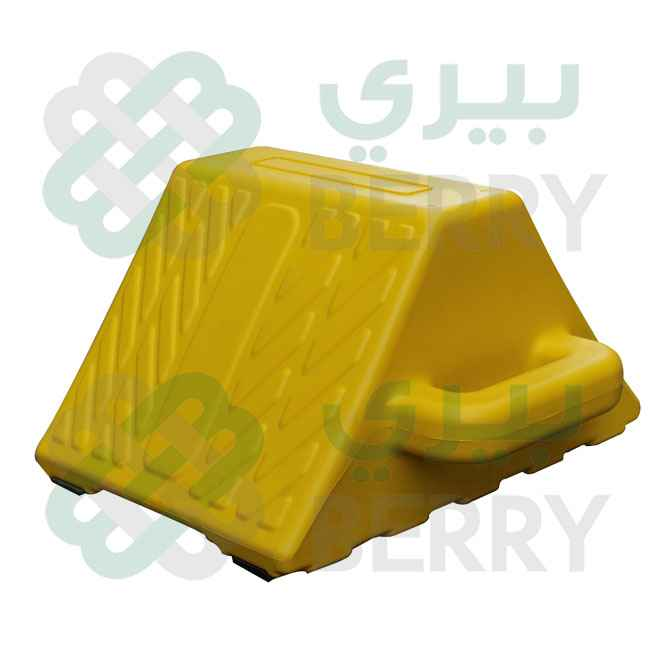 Wheel Chock Yellow Double Side