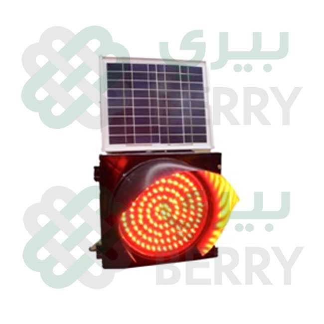 Warning Light 300mm Solar RED