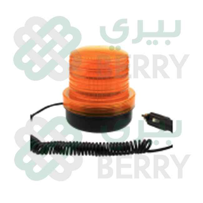 Rotating Warning Light 12-24V Orange 3.5