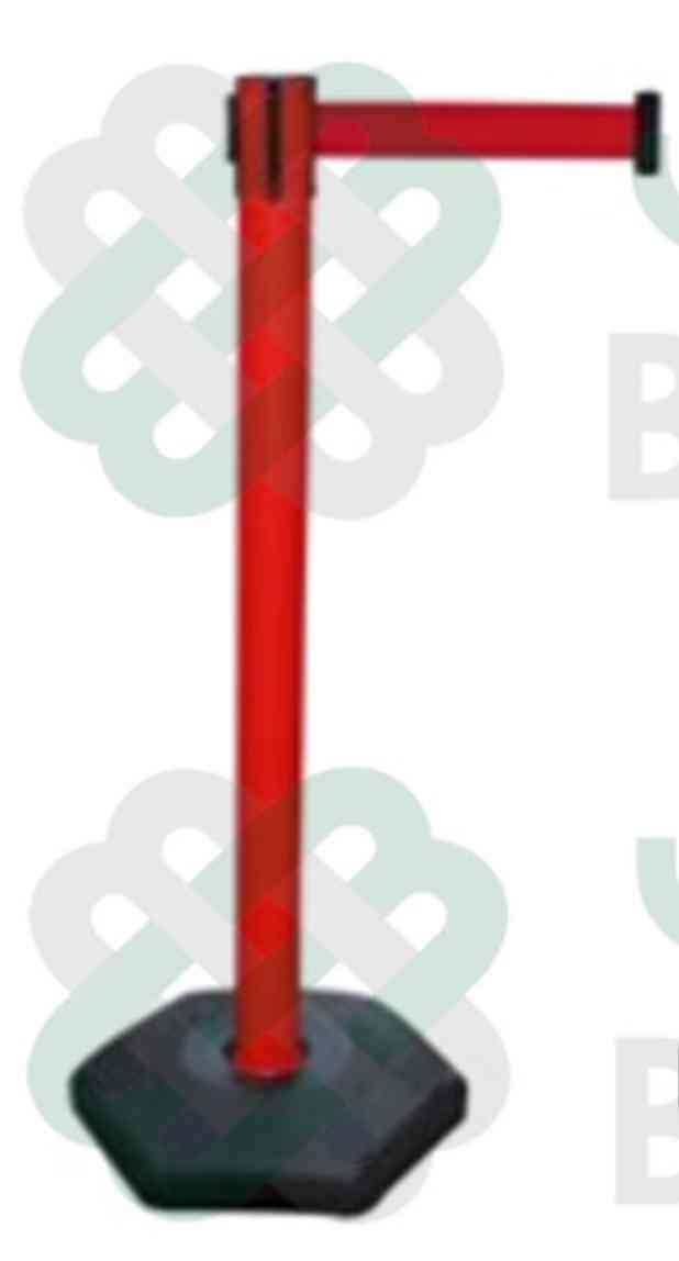 RED Belt Plastic Barrier