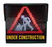 Warning VMS Sign 1000x1000mm,