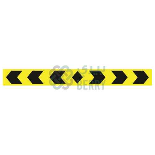 Warning Acrylic Sheet 10x90CM For Car