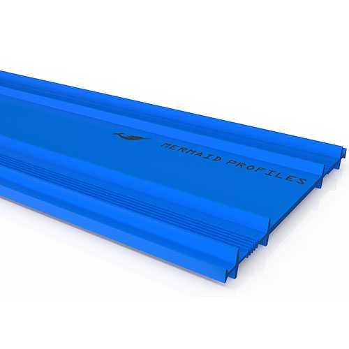 Flat Blue 250x15M,واتر ستوب مسطح 250مم×15متر