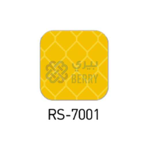 RS 7001 Reflective Yellow 1.22M X 45.7,