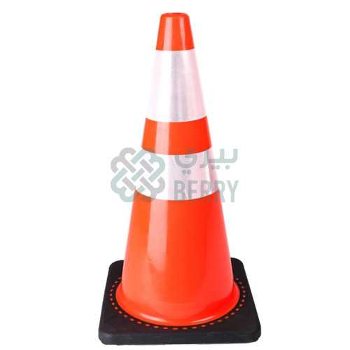 PVC Traffic Cone 70cm Black Base