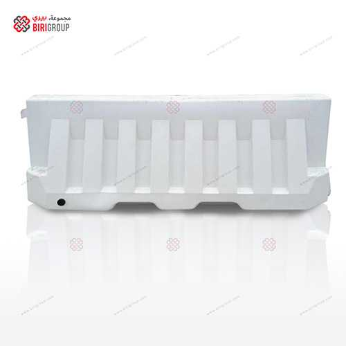 Water Barricade White 2 MTR