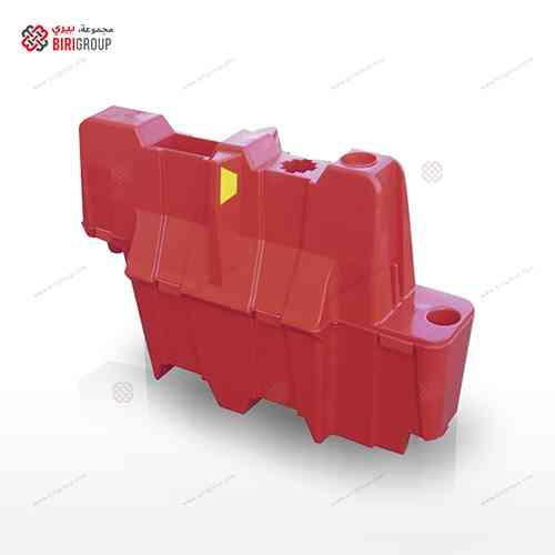 Nissen Lane Seperator 1.1 Mtr Red,حاجز مروري بلاستيكي 1.1 متر احمر,