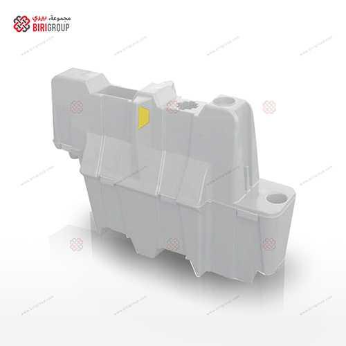 Nissen Lane Seperator 1.1 Mtr White,حاجز مروري بلاسيتيكي 1.1 متر ابيض,