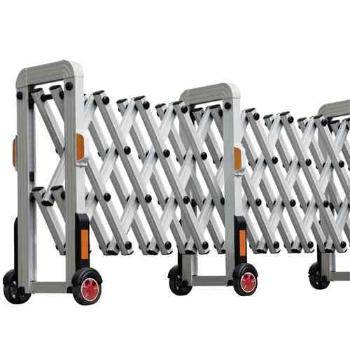 Aluminum Extendable Barrier 4 Meter,حاجز المنيوم قابل للفتح 4 متر,,,,,