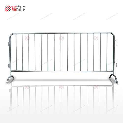 Crowd Barrier 2.5 M Metal