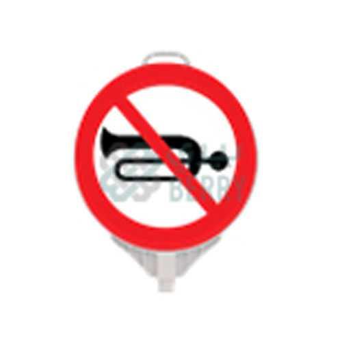 No Horn Sign Bord,ممنوع استخدام الزمور,