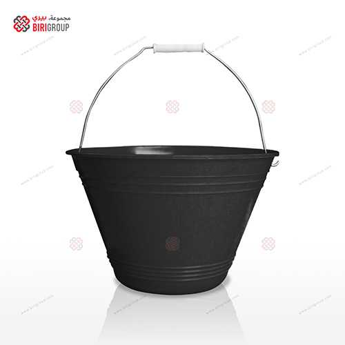 H/D Bucket Black,سطل اسود ثقيل 12لتر