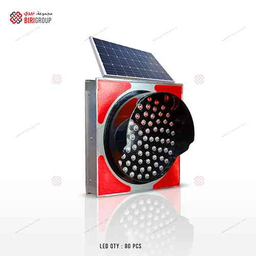 Warning Light AE 300mm Solar Red|~~|