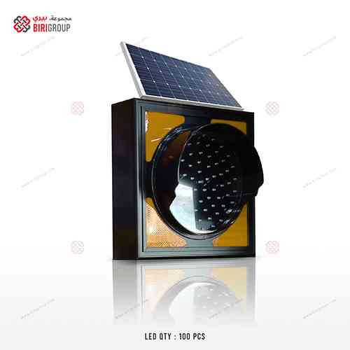 Warning Light HD AE 300mm Solar Yellow|~~|