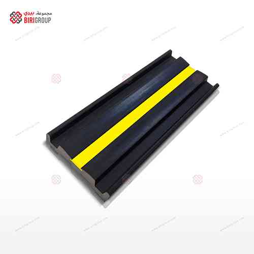 Wall Guard Rubber Yellow Strip