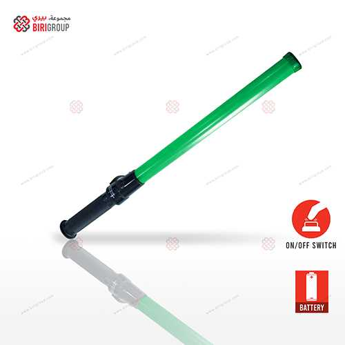 Traffic Baton Green