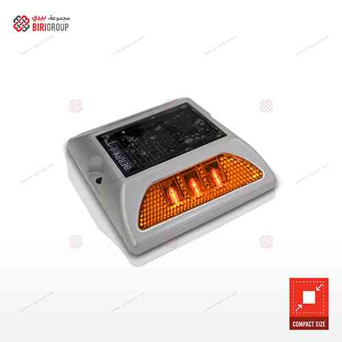 Aluminum Solar Light Orange Small