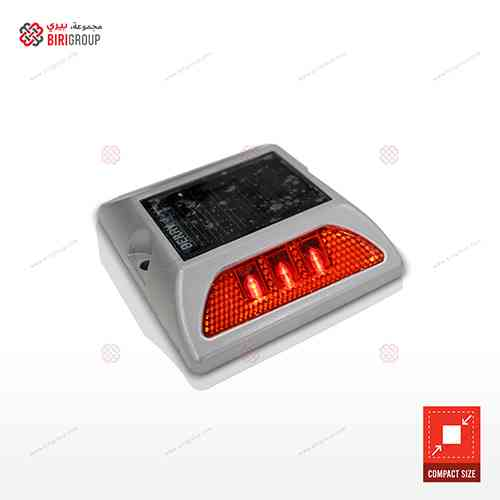 Aluminum Solar Light Red Small