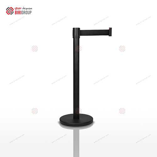 Black Belt Metal Barrier Rubber Base