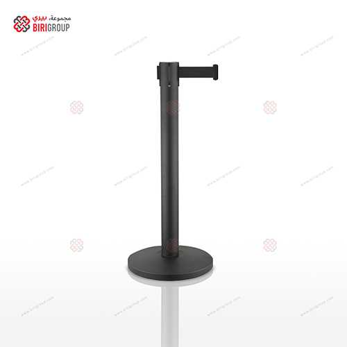 Black Belt Steel Barrier