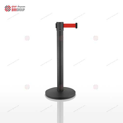 Red Belt Steel Barrier