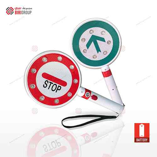 Hand Warning Stop Bi Directional