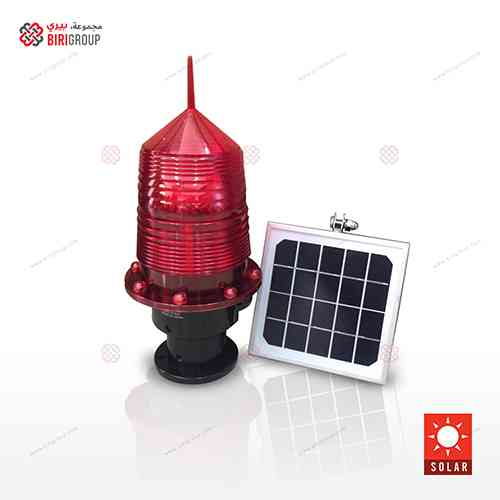 Tower Light Solar - Red