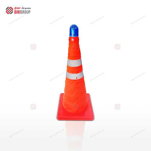 Foldable Cone 50 CM Blue Light
