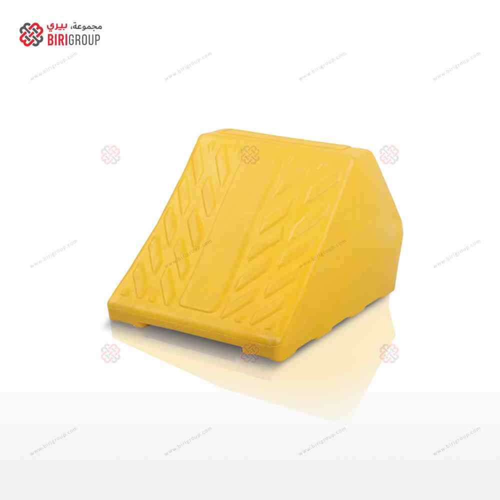Wheel Chock Yellow 3 K.G