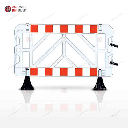 Safety Barricade 1500 X1000 White,حاجز حماية 1500×1000