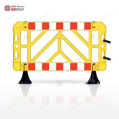 Safety Barricade 1500 X1000 Yellow,حاجز حماية 1500×1000 اصفر