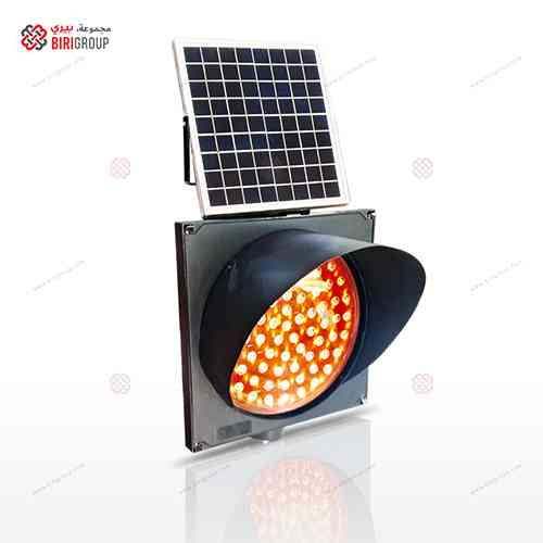 Warning Light 300mm Solar Yellow