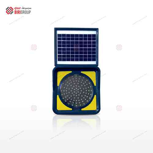 Solar Flasher Lamp Orange