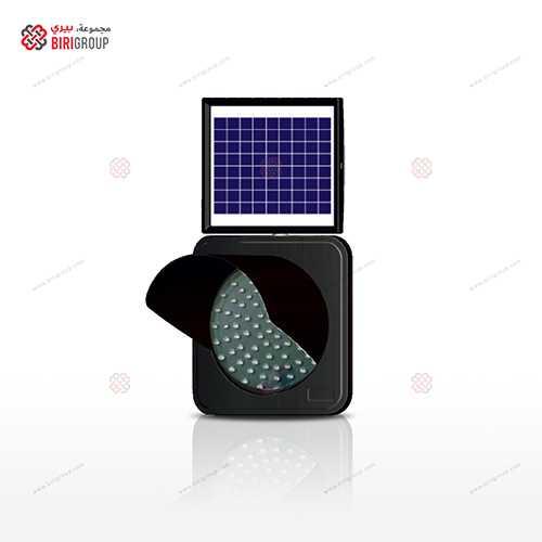 Solar Flash Lamp 300mm Amber|~~|ضوء تنبيه 300مم اصفر