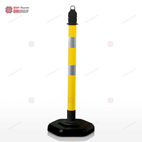 Post Barrier Yellow 12409