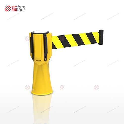 Cone Retractable Belt Yellow 3M