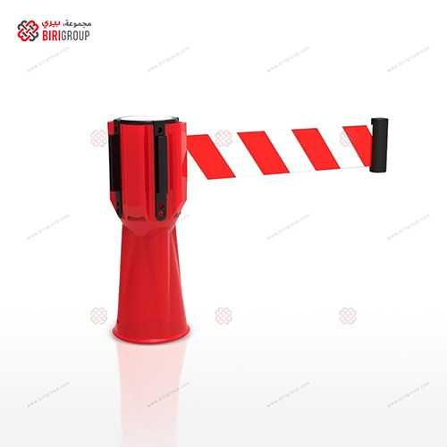 Cone Retractable Belt Red 3M