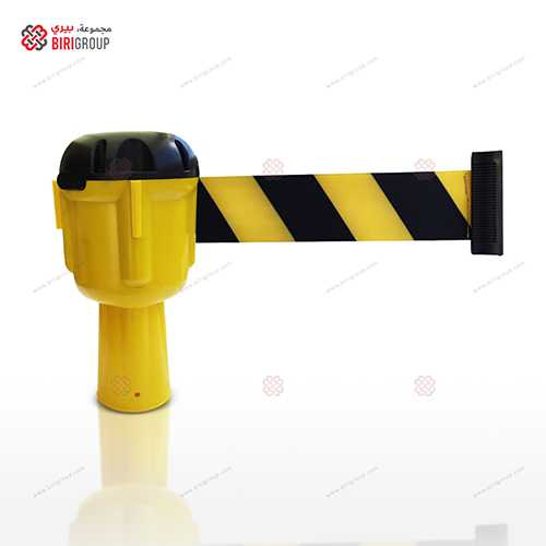 Cone Retractable Belt Yellow 9M