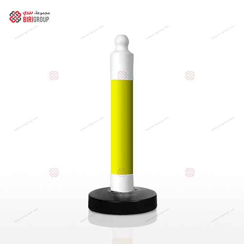 Parking Post Barrier - Yellow