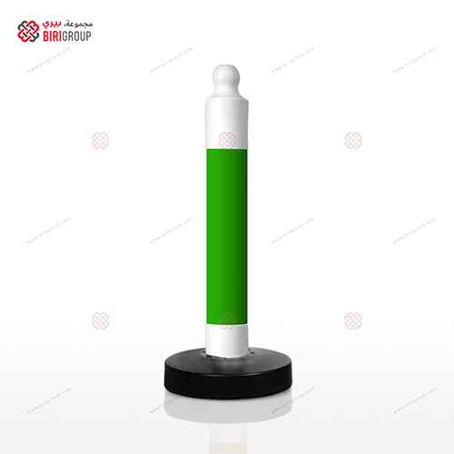 Parking Post Barrier - Green