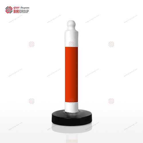 Parking Post Barrier - Red