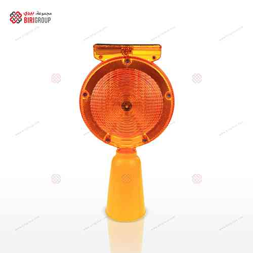 Solar Lamp Cone Orange Big L