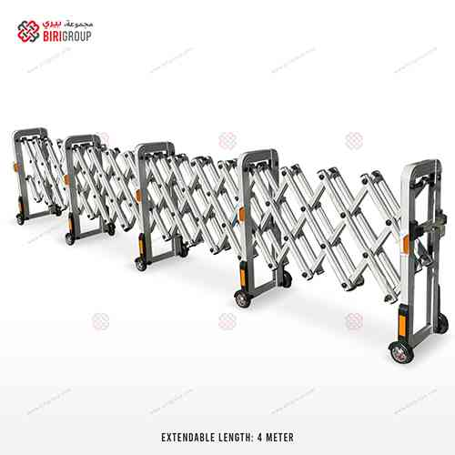 Aluminum Extendable Barrier 4 Meter|~~|حاجز المنيوم قابل للفتح 4 متر,