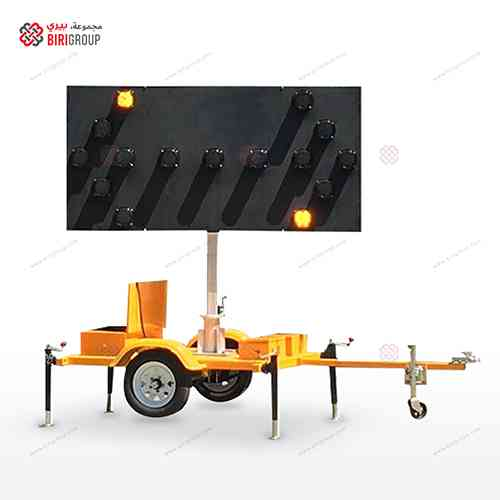 Tailer With Arrow Board,