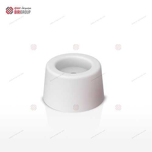 Door Stopper (4) 50Pcs/Box White,مانع اصطدام للباب 4مم 50قطعة بالصندوق ابيض