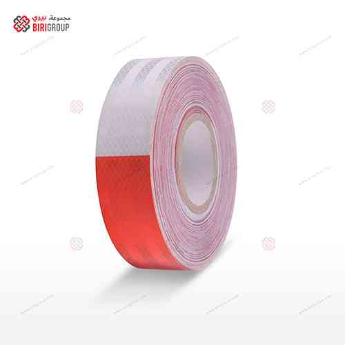PET White & Red Tape 5CM×25Y