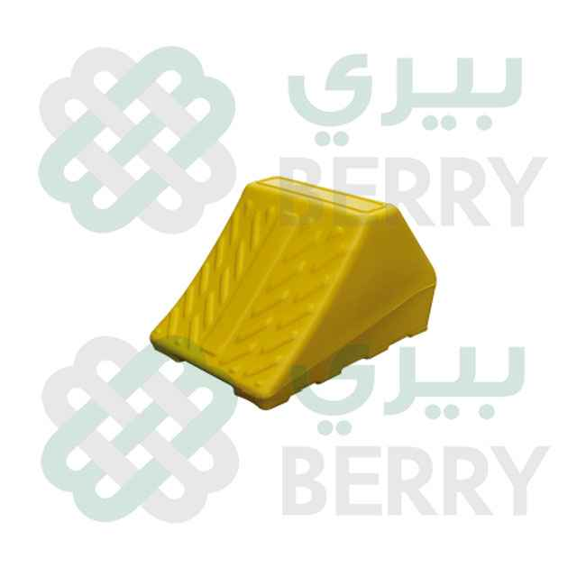 Wheel Chock Yellow Small Truck